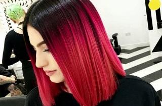 Цветовые оттенки для балаяжа на коротких волосах