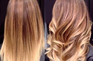 Отзывы о проведении балаяжа на светлые волосы
