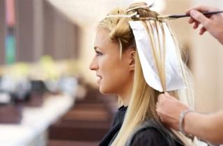 Как окрасить длинные волосы в пепельный цвет по технике балаяж