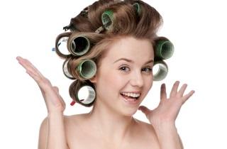 Бигуди-липучки для укладки волос