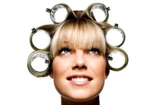 Способы укладки волос на бигуди-липучки