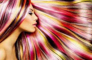 Техника брондирования на русые волосы