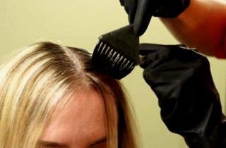 Эффект от применения брондирования на русые волосы