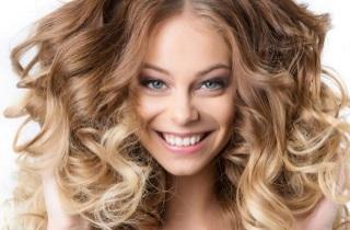 Результаты брондирования на русых волосах