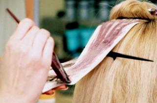 Техника брондирования на светлые волосы