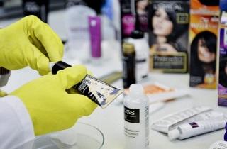 Как проводиться брондирование волос