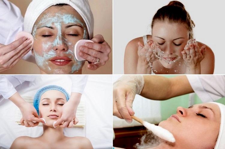 Как очистить лицо азотом