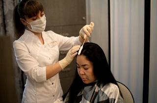 Процедуры для лечения диффузного выпадения волос