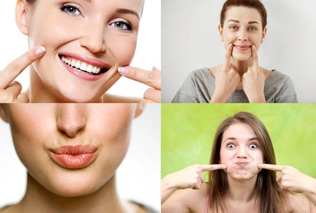 Упражнения для губ