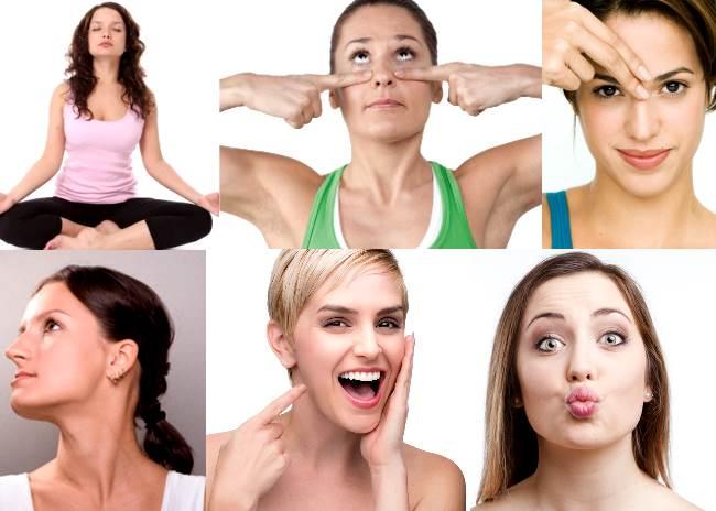 Упражнения для лица