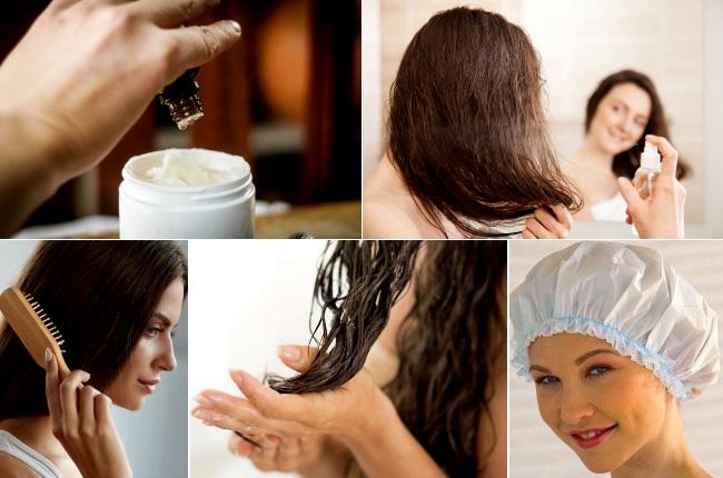 Как применять эфирные масла для волос