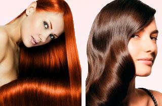 Как сделать экранирование волос
