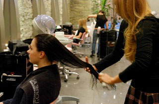 Как правильно сделать экранирование волос