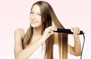Инфракрасный утюжок для волос