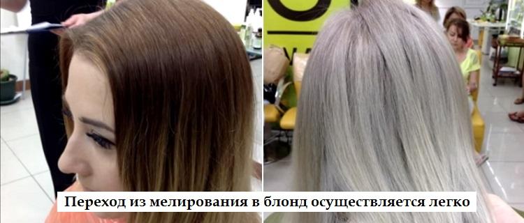 Профессиональные методы окрашивания мелированных волос