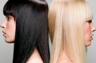 Как перекрасить черные волосы