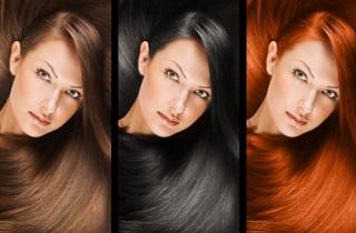 Все тонкости окрашивания черных волос