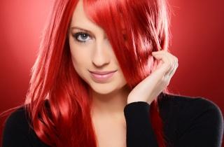 Как покрасить волосы в красный цвет