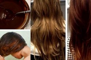 Как затемнить волосы в домашних услових