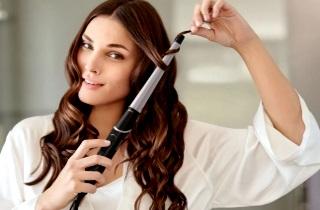 Керамическая плойка для волос