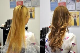 Виды техник колорирования на светлые волосы