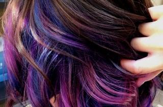 Виды колорирования на темные волосы