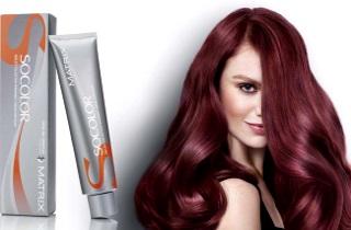 Разнообразие красок для волос от «Матрикс»