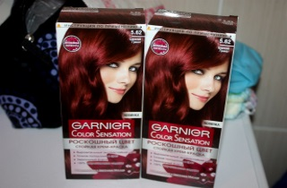 Выбираем краску для окрашивания волос в красный цвет