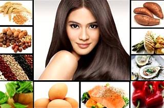 Волосы и питание