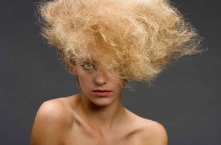 Маска для сожженных волос