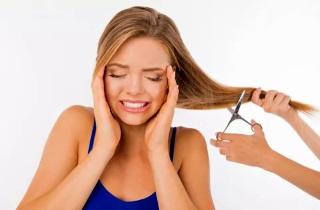 Методы восстановления сожженных волос