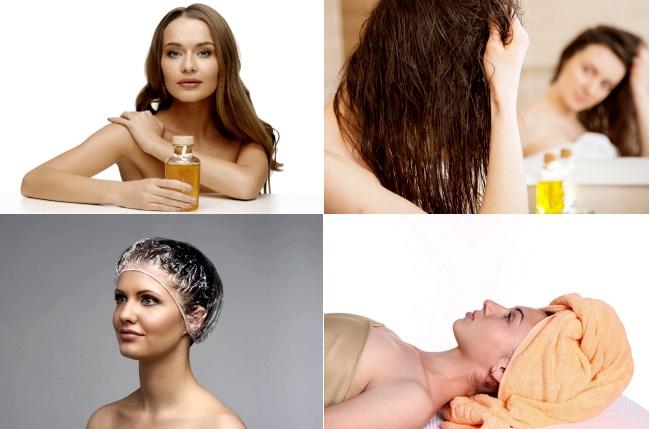 Как использовать маску против пушистости волос