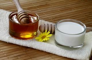 Маска для волос с кефиром и медом