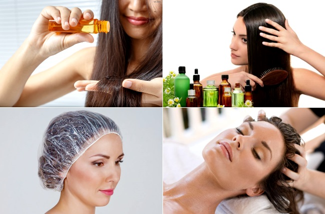 Как применять увлажняющее масло для волос
