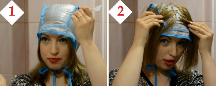 Как делать на шапочку
