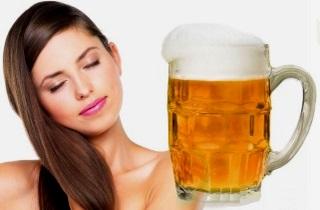 Как ухаживать за волосами с помощью пива