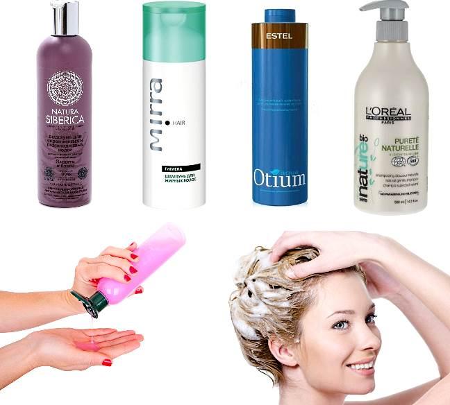 Популярные шампуни