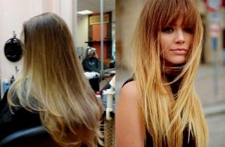Окрашиваем волосы в блонд