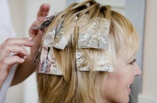 Способы окрашивания волосы в блонд