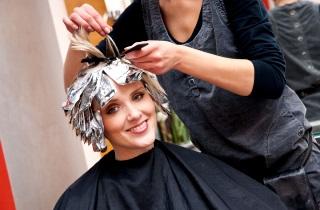 Виды окрашивания коротких волос