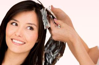Окрашивание длинных волос по технике омбре