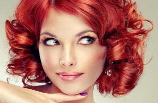 Выбираем оттенки для окрашивания рыжих волос