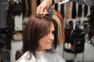 Кому подойдет окрашивание волос «Растяжка»