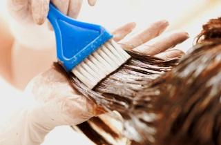 Результаты окрашивания волос «Растяжка»