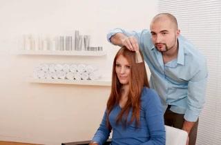 Как нужно окрашивать омбре на светлые волосы