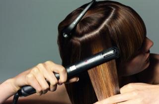 Домашнее осветление кончиков волос
