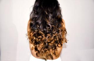 Техники осветления кончиков волос