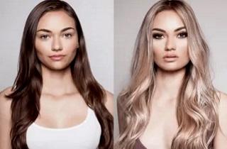 Результаты осветления волос ромашкой