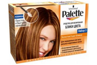 Краска Palette для мелирования волос