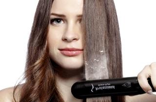 Как применять паровой утюжок для волос